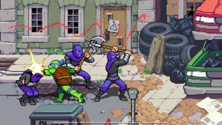 【3DM游戏网】《忍者神龟:施莱德的复仇》预告片