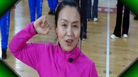 1-2021年4月延安体育馆教练舞蹈[天耀中华]示范动作,杨秀梅,电话15591153707