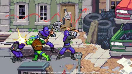 【3DM游戏网】《忍者神龟:施莱德的复仇》新预告