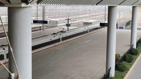 20201024 133242 郑西(连兰)高铁G88次列车出西安北站