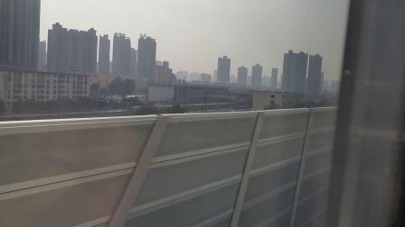 20201024 151432 西宝高铁D2667次列车通过咸阳站