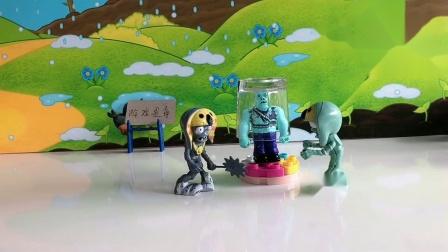 儿童玩具:封印太强大,怪兽们破不了