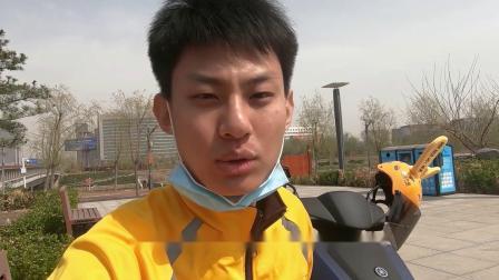"""多多的Vlog:如何用雅马哈旭鹰成为""""外卖之王""""?"""