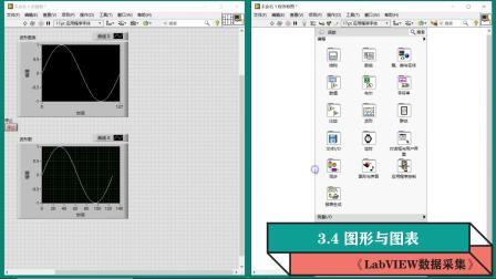 《LabVIEW数据采集》视频教程第47集图形与图表