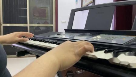 王丽达阿姨:演唱会的 《学习雷锋好的榜样》雅马哈电子琴编曲键盘/PSR-E233演奏版2011年老款旧版