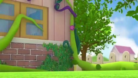 帮帮龙出动:帮帮龙找到藤蔓根源,终于解决好问题