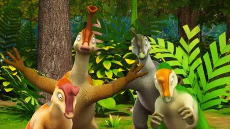 帮帮龙出动:哆来咪恐龙家族很擅长音乐和舞蹈