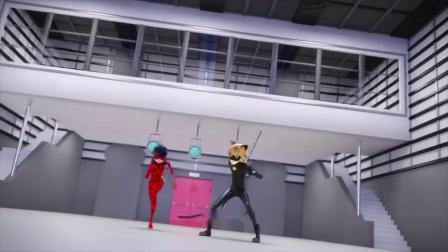 瓢虫雷迪:施令者施蒙被黑猫诺儿打败了