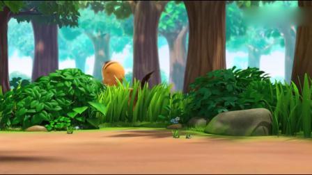 萌鸡小队:萌鸡宝宝们在玩寻找宝物游戏
