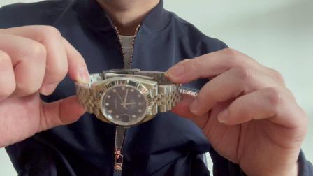 【腕表小评测】劳力士日志型 m126334 蓝面钻钉