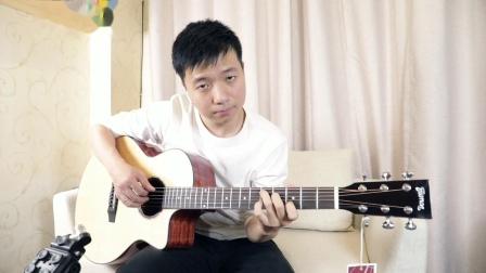 【老实人吉他评测】楚门升级新款TF35音色试听,千元面单天花板!