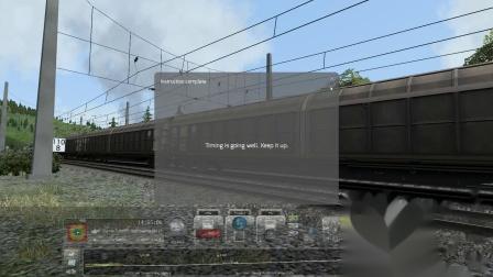 模拟火车2017:拉着货车厢爬山