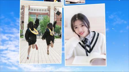 AE947 毕业季回忆相册同学聚会毕业相册AE模板