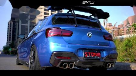 BMW F20 B48 120LCI  Stone Turbo-back Exhaust System