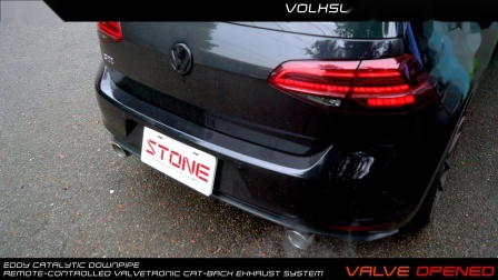 Volkswagen Golf 7 GTI  Stone Eddy Catted DP + Valvetronic Catback Exhaust System