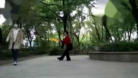 孝感晨练广场舞(扇子舞)《故乡情》