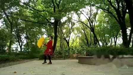 孝感晨练广场舞(两种跳法)《故乡情》