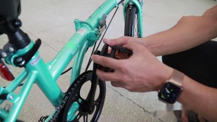 (大行)圆片脚踏安装工具使用教程