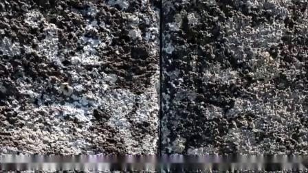 复活节岛上古老的巨石墙