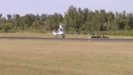 LFINO Gyroplane Jump Takeoff(直升旋翼双能机垂直起飞)