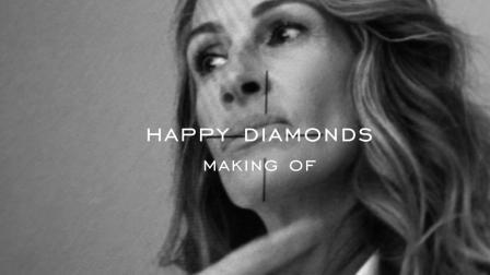 Chopard萧邦 - Happy Diamonds系列全新广告大片 幕后花絮 (Square)