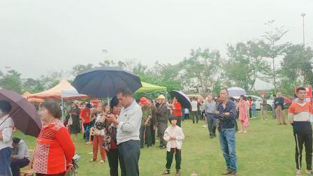 广西三月三,上林山歌文化园嗨翻天了.