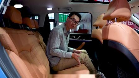 2021上海车展,实拍威马W6,泊车手残党福音