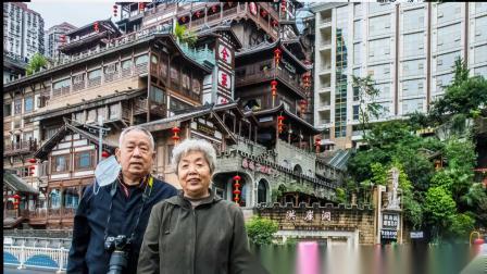 重庆《城市名片》洪崖洞景区(重庆之旅—13 )