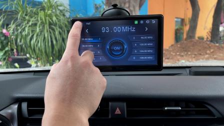 Car Portable Mobile Connected Screen, Wireless CarPlay, Wireless Android Auto