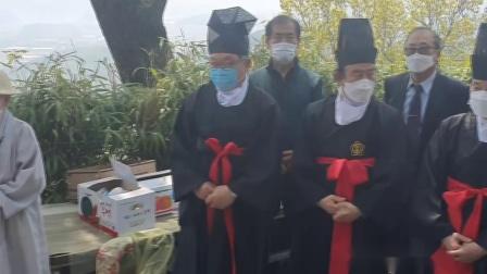 韩国孔子文化中心参加新罗圣母祠春享祭