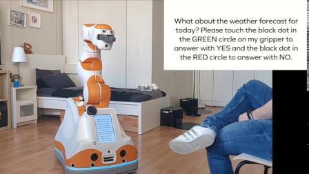 F&P|孚朋机器人 Lio live display