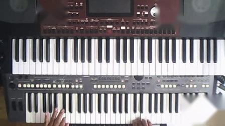 电子琴演奏《玛尼情歌》[2021_04_23 ].wmv