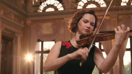 希拉里.哈恩演奏的巴赫第一号小提琴无伴奏组曲的Presto