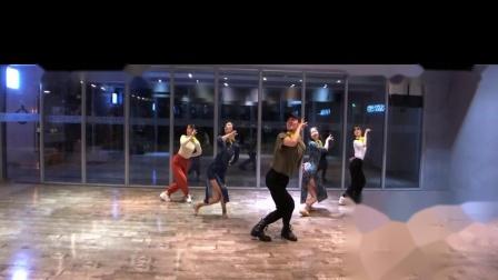 多情种 中国风爵士丝巾编舞 练习室 白小白
