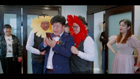 杨青青and王娇婚礼快剪栖霞久约久婚礼全程策划