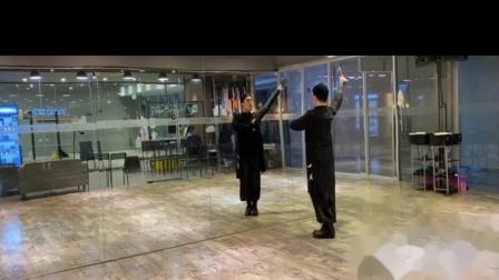人美路子野 中国风爵士扇子编舞 镜面分解教学 全盛舞蹈工作室