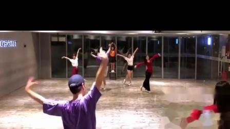 月夜 中国风爵士编舞 镜面练习室 白小白
