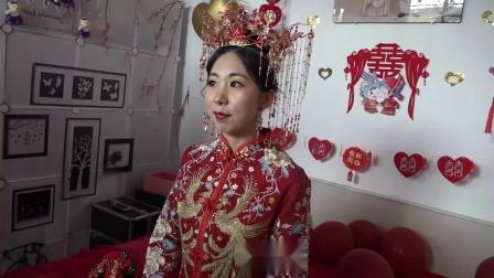 张英鹏和张晓芳新婚庆典实况上集.