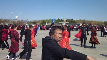 北镇市秧歌舞蹈协会梨花节汇演《大家跳》制作-东明2021.4.25