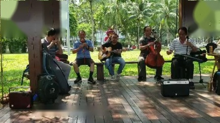 女声独唱(妻子)伴奏二胡丁连城 吉他粱 笛子沈 葫芦丝夏 大提琴薛
