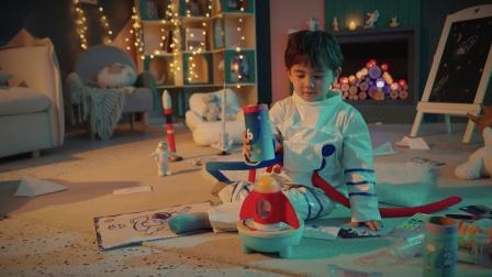 Hape幼儿期玩具——球悬浮火箭堆塔