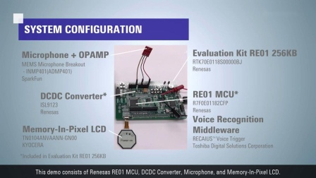 RE Solution Low Power Voice Recognition