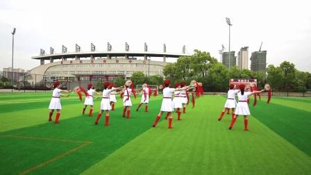 6学练第三套柔力球双拍双球基础套路《歌唱祖国》安徽省繁昌柔力球协会-制作大海