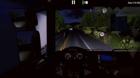 世界卡车模拟-斯堪尼亚S7304x2,运输木头(1)