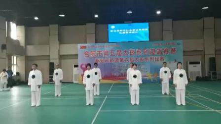 翟亚兵团队演练太极拳 (3)