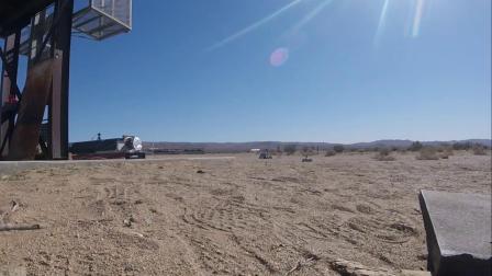 使用FLIR T540记录火箭测试过程