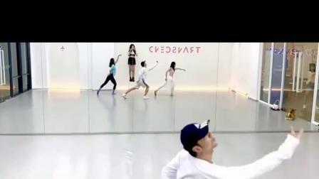 雪落下的声音 中国风爵士编舞 镜面练习室 白小白