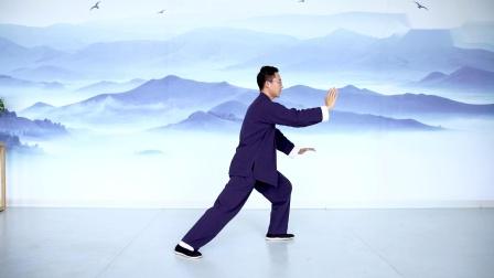 传统杨氏太极拳85式第一段口令版杨大卫演练