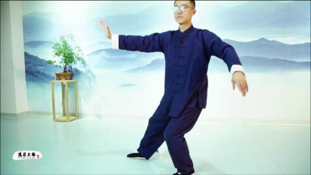 传统杨氏太极拳85式第二段口令版杨大卫演练