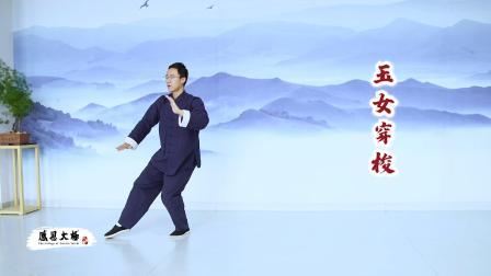 传统杨氏太极拳85式第四段口令版杨大卫演练